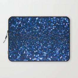 Blue Glamorous Sequins Laptop Sleeve