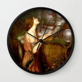 John William Waterhouse Lamia Wall Clock