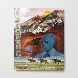 Sunny-Side Up Metal Print