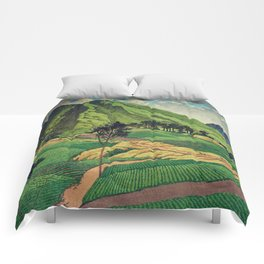 Crossing people's land in Iksey Comforters