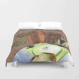 I Like Turtles Duvet Cover