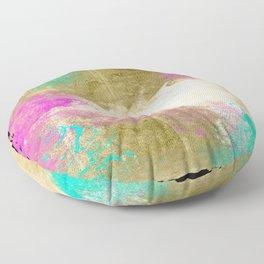 PASTEL ABSTRACT Floor Pillow