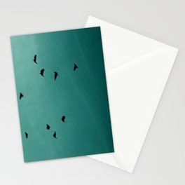 On a Wing and a Prayer Stationery Cards