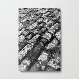 Roof tiles Metal Print