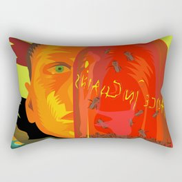 Alice in Chains - Jar of Flies  (Rock Album Cover) Rectangular Pillow