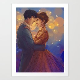 Can I have This Dance Art Print