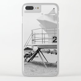 Cali Vibes Clear iPhone Case
