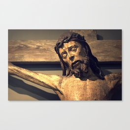 Crucified Christ Canvas Print