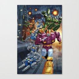 Wreck n Rule! Canvas Print