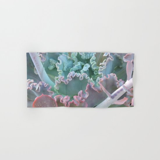 Succulent in the Sand Hand & Bath Towel