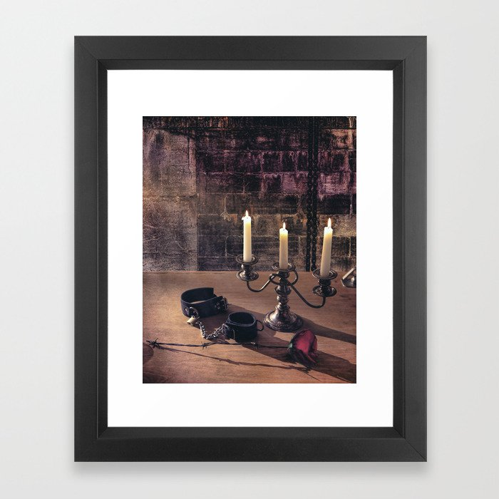 BDSM Rendezvous Framed Art Print