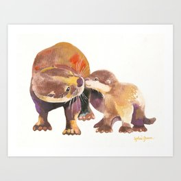 Why I Otter... Art Print