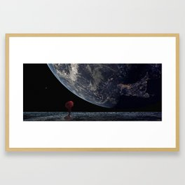 The Red Voice Framed Art Print