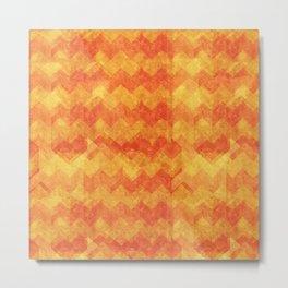 Orange Warmth Metal Print