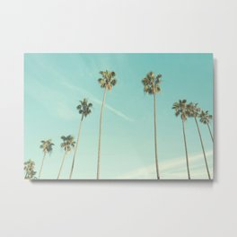 Palm Trees 2 Metal Print