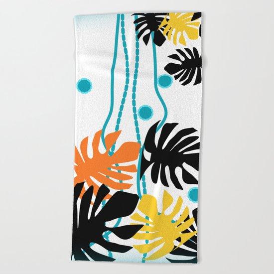 Jungle Fever Beach Towel