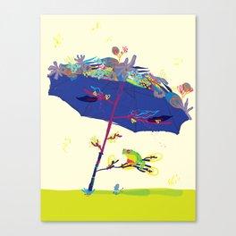 Summer Nap Canvas Print