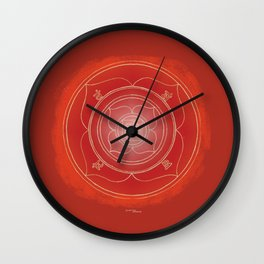 MULADHARA Boho mandala Wall Clock
