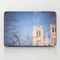 brussels iPad Cases featuring Brussels Cathedral by Ghdv Grafias