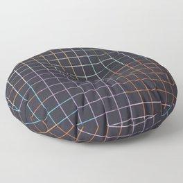 Bauhaus Mod - Graph Paper Floor Pillow