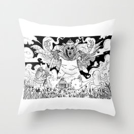 Union is Strenght Throw Pillow