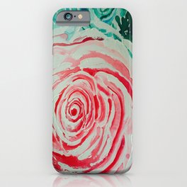 Where the Pink Roses Grow, Summer is Ending and Romantic Fall Nights are Here iPhone Case
