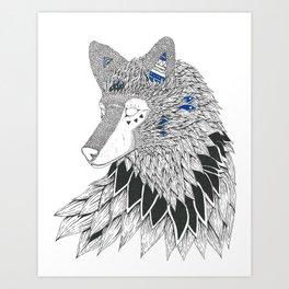 O-oookami Art Print