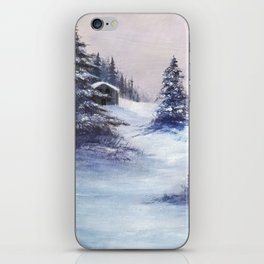 Serene Snow iPhone Skin