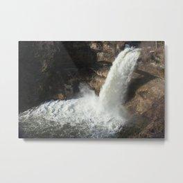 Minnehaha Falls in Minneapolis Metal Print