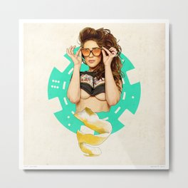 Mrs. Nevada Metal Print