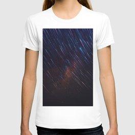The Galaxy Rains (Color) T-shirt