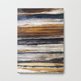 Scars on Cedar Metal Print