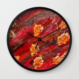 Meteor Surrender  Wall Clock