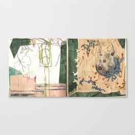 light & lock Canvas Print