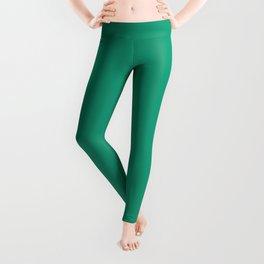 Emerald Green Color Leggings