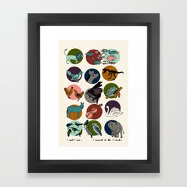 Carnival of the Animals - Saint-Saens Framed Art Print