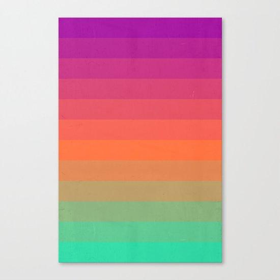 Enjoy Color Canvas Print