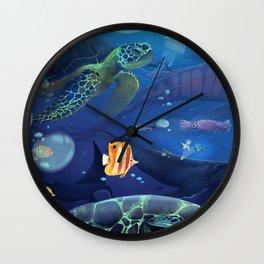 Giants of the Deep Wall Clock