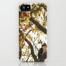 Kookaburra  iPhone Case