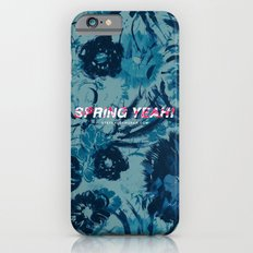 Spring Yeah! - Blue Flowers iPhone 6s Slim Case