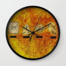 blood diamonds Wall Clock