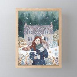 Teatime Framed Mini Art Print