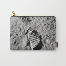Boot Print on Moon Carry-All Pouch