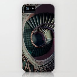Art Deco spiral staircse iPhone Case