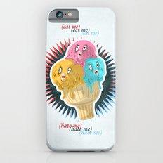 (eat me) SCREAMING ICE CREAM (hate me)  iPhone 6s Slim Case