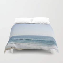 California Beach Day Duvet Cover