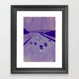 Nightscape 01 Framed Art Print