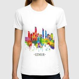 Izmir Turkey Skyline T-shirt
