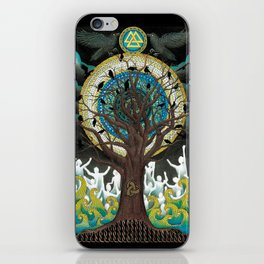 Ode to Odin iPhone Skin