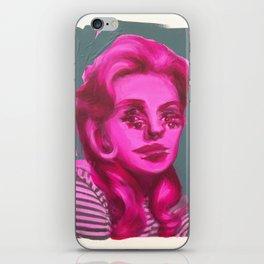 Funny Girl iPhone Skin